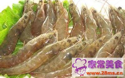 葱辣大虾的做法图片