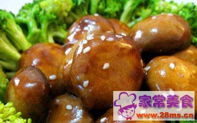 蚝油煎双菇