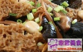 香菇黄花菜