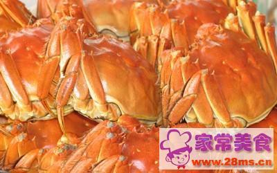 清蒸做法的时人_做清蒸河蟹_做清蒸一小河蟹生腌菜怎么做图片